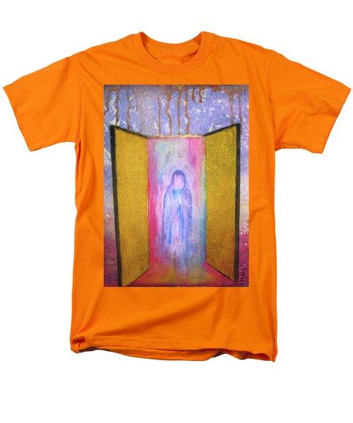 Queen Of Heaven Men's T-Shirt  (Regular Fit) by Mary Ellen Frazee
