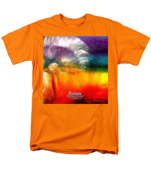 Rainbow Bliss #052833_ii Men's T-Shirt  (Regular Fit) by Barbara Tristan