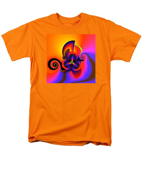 Rainbow Infusion Men's T-Shirt  (Regular Fit) by Claude McCoy