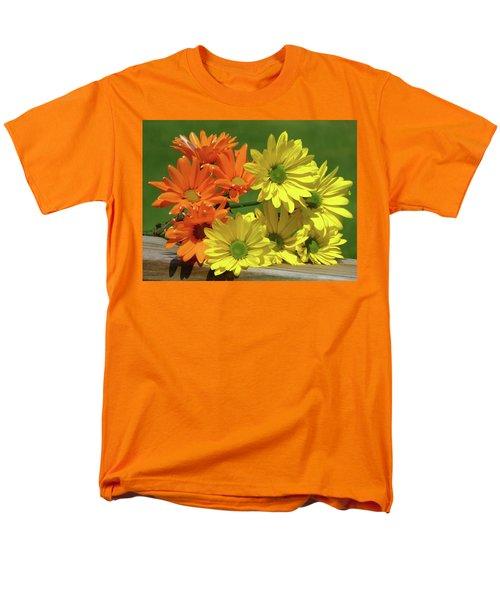 Rainbow Mums 4 Of 5 Men's T-Shirt  (Regular Fit) by Tina M Wenger