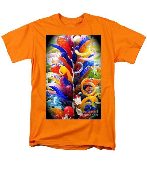 Rainbow Spirals Men's T-Shirt  (Regular Fit)
