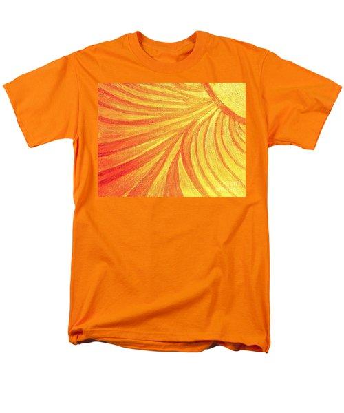 Rays Of Healing Light Men's T-Shirt  (Regular Fit) by Rachel Hannah