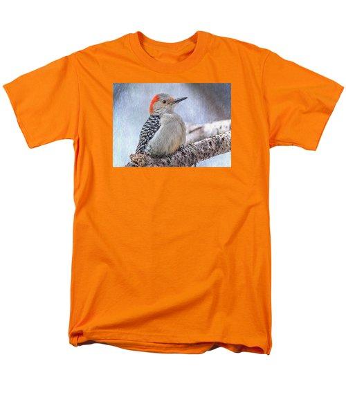 Red-bellied Woodpecker Men's T-Shirt  (Regular Fit) by Patti Deters