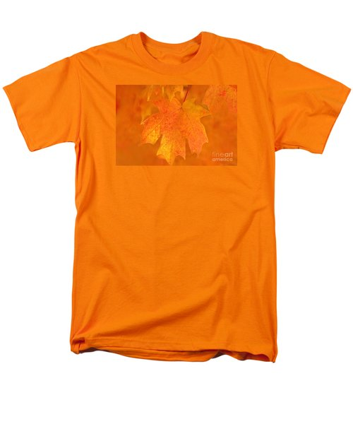 Men's T-Shirt  (Regular Fit) featuring the photograph Red Maple Autumn by Marion Johnson