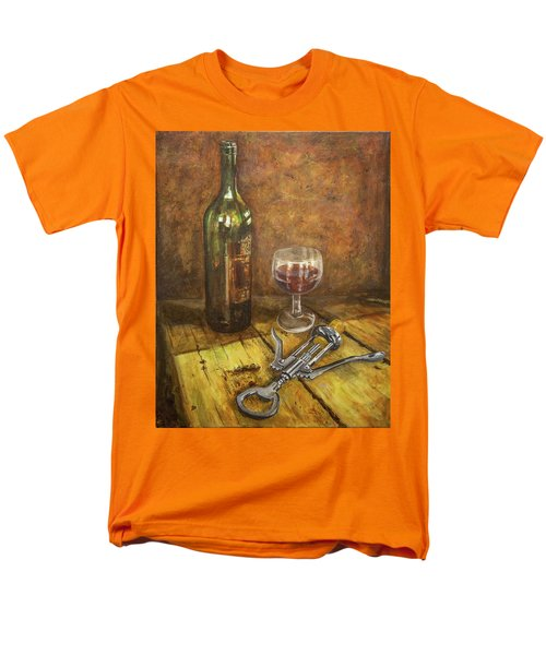 Red Red Wine Men's T-Shirt  (Regular Fit) by Marty Garland