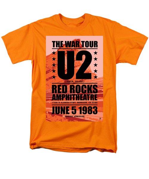Red Rock Concert Men's T-Shirt  (Regular Fit)