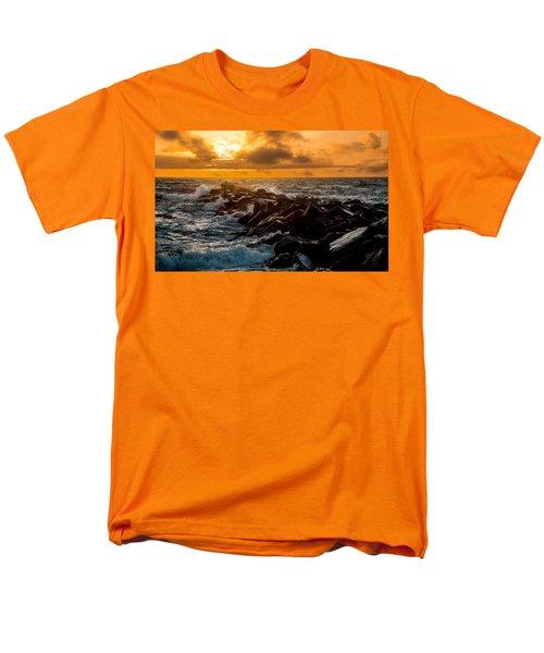 Redondo Beach Sunset Men's T-Shirt  (Regular Fit) by Ed Clark