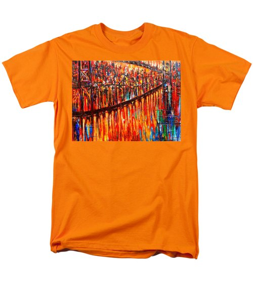 Reflections Of My Childhood Men's T-Shirt  (Regular Fit) by Helen Kagan