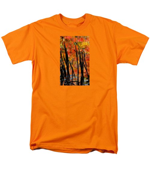 Men's T-Shirt  (Regular Fit) featuring the photograph Reflections On Infinity by Angela Davies