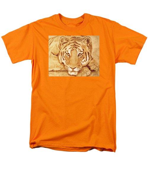 Resting Tiger Men's T-Shirt  (Regular Fit) by Dale Loos Jr