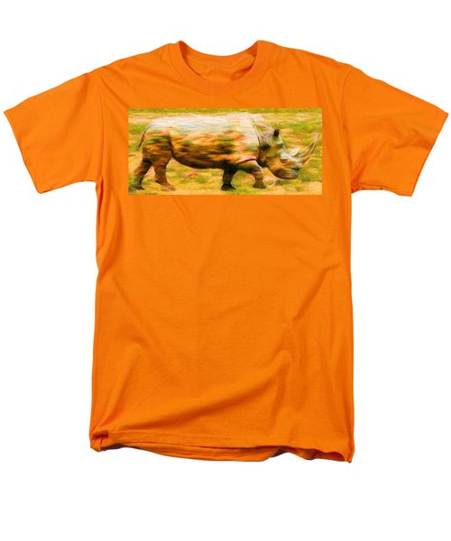 Rhinocerace Men's T-Shirt  (Regular Fit) by Caito Junqueira