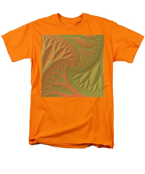 Men's T-Shirt  (Regular Fit) featuring the digital art Ridges And Valleys by Lyle Hatch