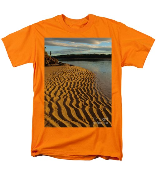 Men's T-Shirt  (Regular Fit) featuring the photograph Ripples To The Edge by Trena Mara