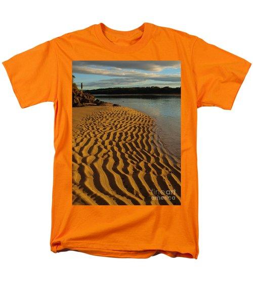 Ripples To The Edge Men's T-Shirt  (Regular Fit)