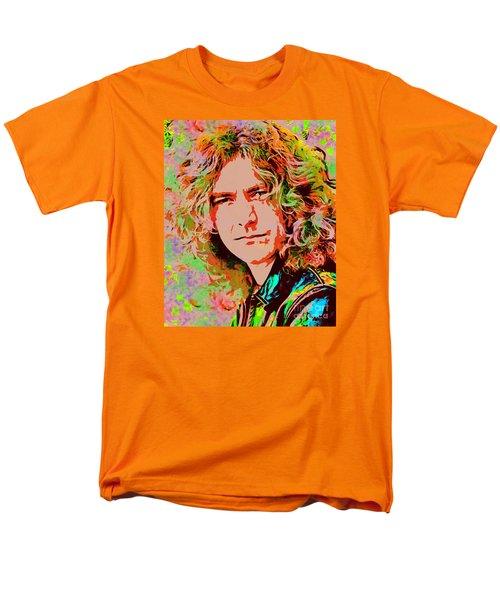 Robert Plant Men's T-Shirt  (Regular Fit) by Sergey Lukashin