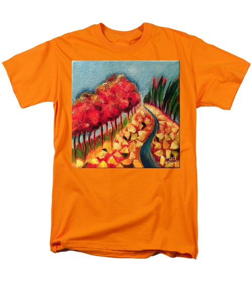 Rocky Mountain Men's T-Shirt  (Regular Fit) by Elizabeth Fontaine-Barr