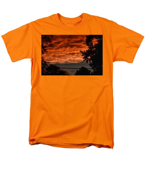 Men's T-Shirt  (Regular Fit) featuring the photograph Rolling Skies by Nikki McInnes
