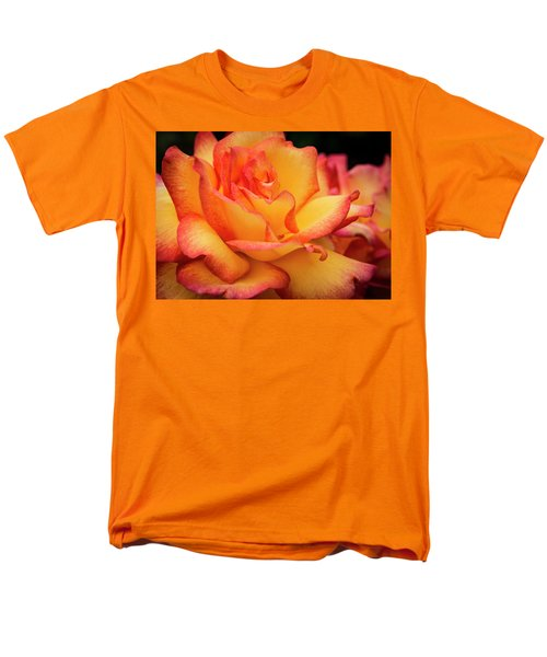 Men's T-Shirt  (Regular Fit) featuring the photograph Rose Beauty by Jean Noren