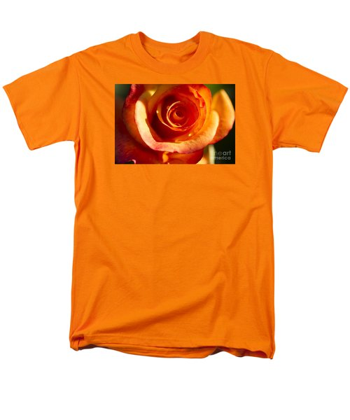 Men's T-Shirt  (Regular Fit) featuring the photograph Rose Glow by Jeanette French