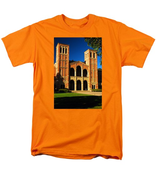 Men's T-Shirt  (Regular Fit) featuring the photograph Royce Hall Ucla by James Kirkikis