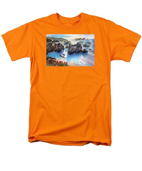 Marin Lovers Coastline Men's T-Shirt  (Regular Fit)
