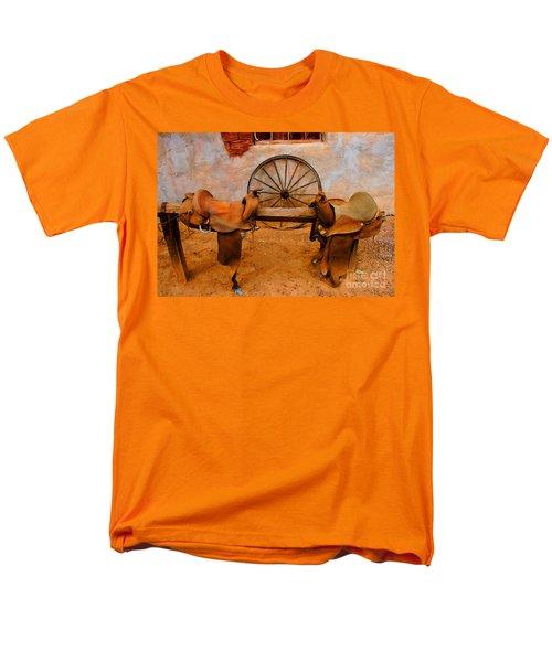 Saddle Town Men's T-Shirt  (Regular Fit)