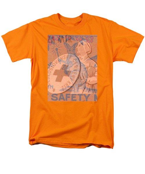 Men's T-Shirt  (Regular Fit) featuring the digital art Safety Kangaroo First by Nop Briex