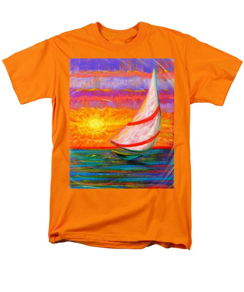 Sailaway Men's T-Shirt  (Regular Fit) by Jeanette Jarmon