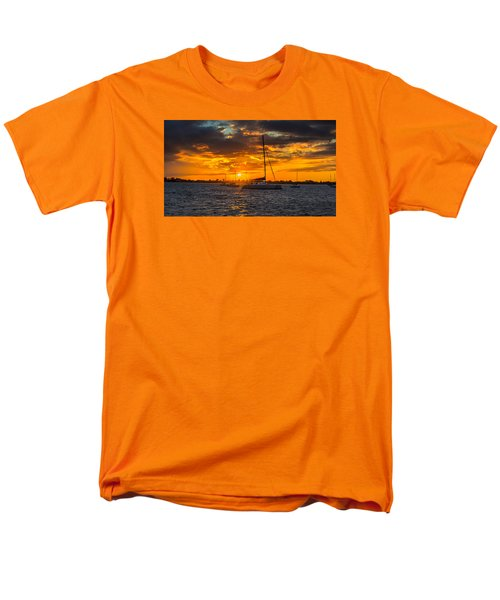 Sailor Sunset Men's T-Shirt  (Regular Fit) by Kevin Cable