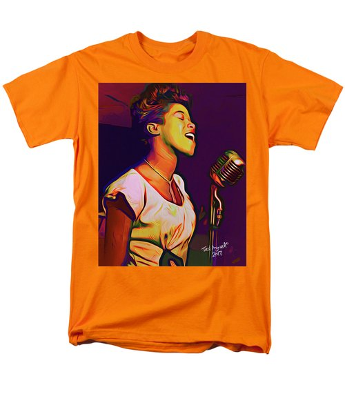 Sarah Vaughn Men's T-Shirt  (Regular Fit) by Ted Azriel