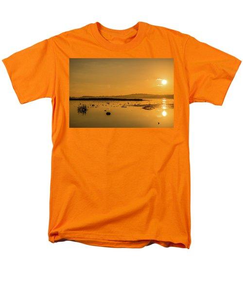 Saturday Morning Along The Estuary  Men's T-Shirt  (Regular Fit) by Martina Fagan