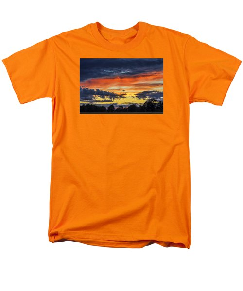 Men's T-Shirt  (Regular Fit) featuring the photograph Scottish Sunset by Jeremy Lavender Photography