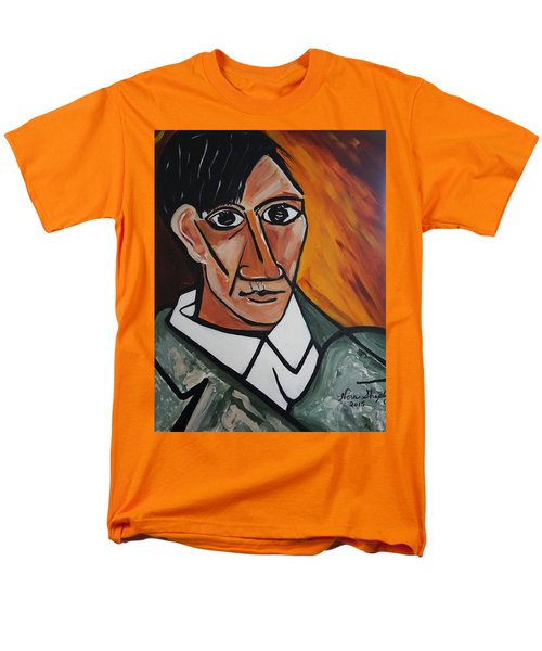 Self Portrait Of Picasso Men's T-Shirt  (Regular Fit) by Nora Shepley