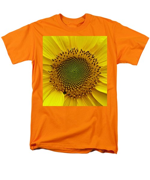 September Sunflower Men's T-Shirt  (Regular Fit) by Richard Cummings