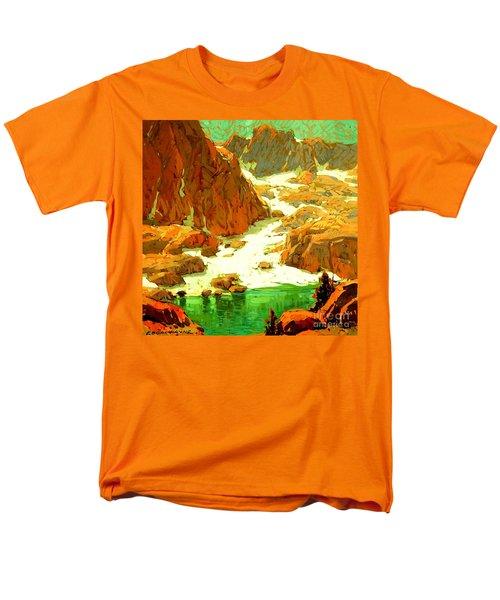 Sierra Landscape Circa 1920 Men's T-Shirt  (Regular Fit)