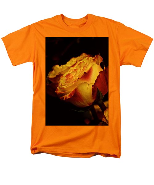 Single March Vintage Rose Men's T-Shirt  (Regular Fit) by Richard Cummings