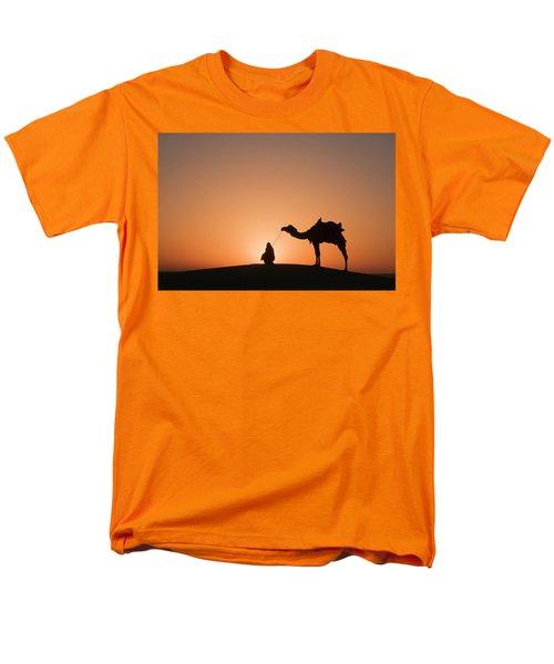 Skn 0893 The Halo Of Sunrise Men's T-Shirt  (Regular Fit) by Sunil Kapadia