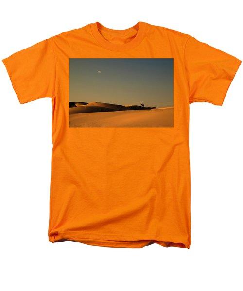 Skn 1117 Camel Ride At 6 Men's T-Shirt  (Regular Fit) by Sunil Kapadia