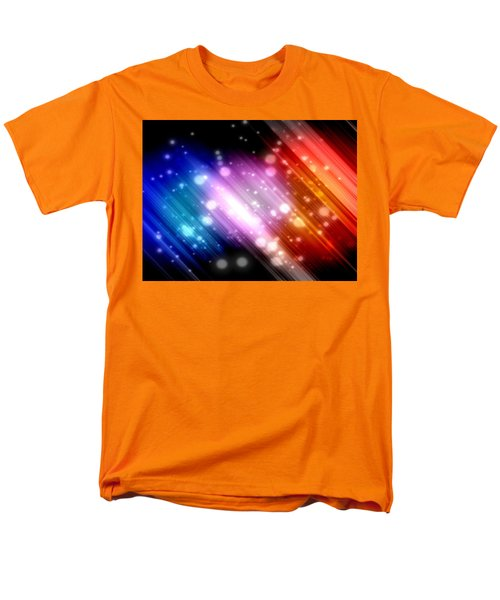 Sky Beams Men's T-Shirt  (Regular Fit)