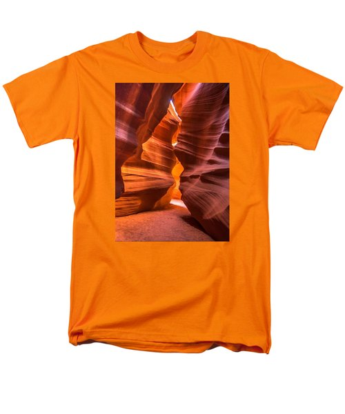 Slot Canyon Men's T-Shirt  (Regular Fit) by Jerry Cahill