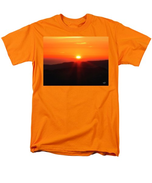 Men's T-Shirt  (Regular Fit) featuring the photograph Snow Camp View 2 by Leland D Howard