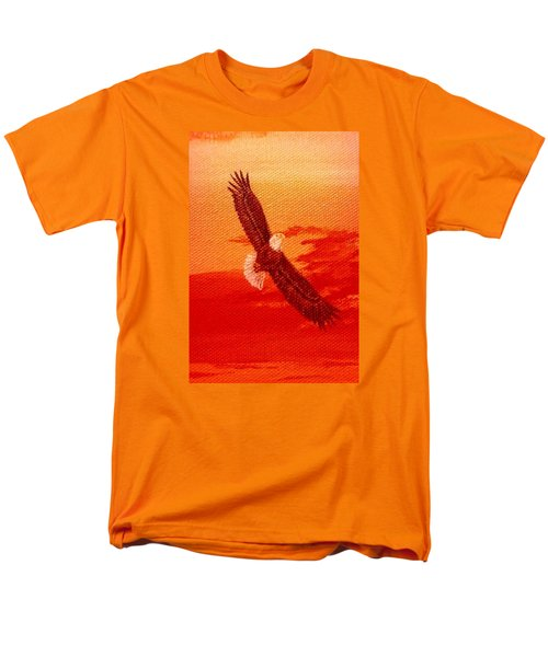 Men's T-Shirt  (Regular Fit) featuring the painting Soaring by Katherine Young-Beck