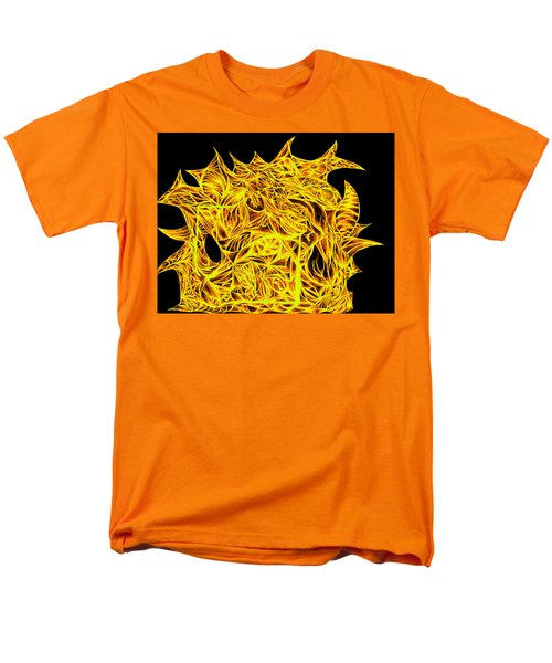Men's T-Shirt  (Regular Fit) featuring the drawing Sour Desire by Jamie Lynn