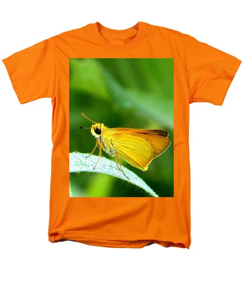 Southern Skipperling Butterfly 001  Men's T-Shirt  (Regular Fit) by Chris Mercer