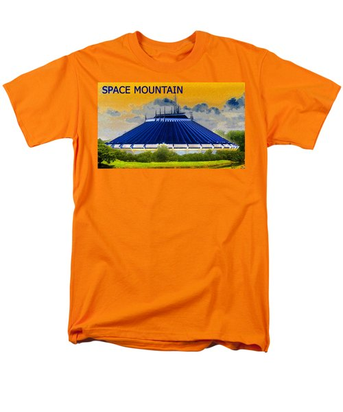 Space Mountain Men's T-Shirt  (Regular Fit) by David Lee Thompson