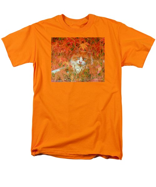 Special Kitty Men's T-Shirt  (Regular Fit) by Geraldine DeBoer