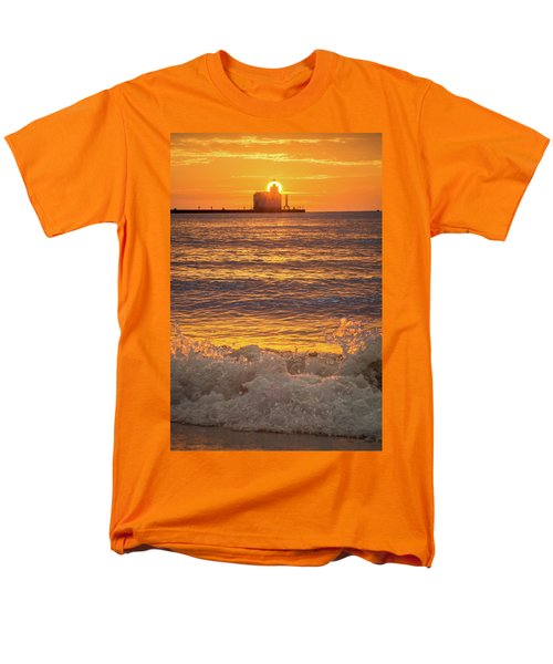 Men's T-Shirt  (Regular Fit) featuring the photograph Splash Of Light by Bill Pevlor