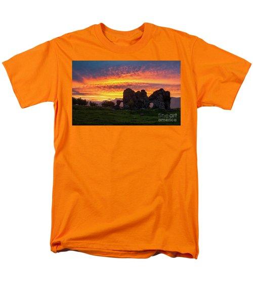 Splendid Ruins Of Tormak Church During Gorgeous Sunset, Armenia Men's T-Shirt  (Regular Fit) by Gurgen Bakhshetsyan