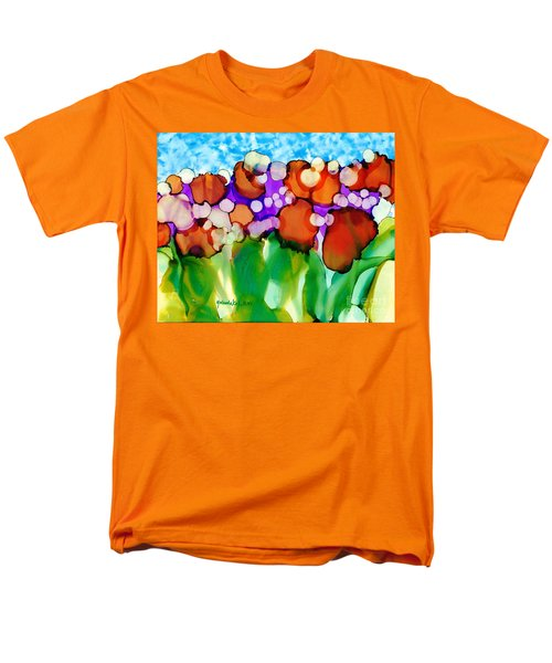Men's T-Shirt  (Regular Fit) featuring the painting Spring In Charleston by Yolanda Koh