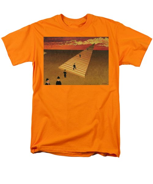 Stairway To Heaven Men's T-Shirt  (Regular Fit)